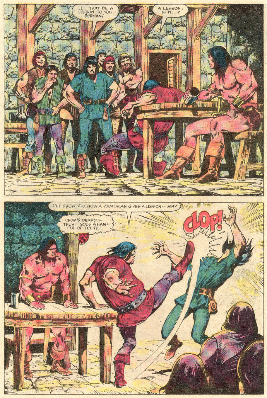 Conan the Barbarian (1970) Issue #137 #149 - English 8