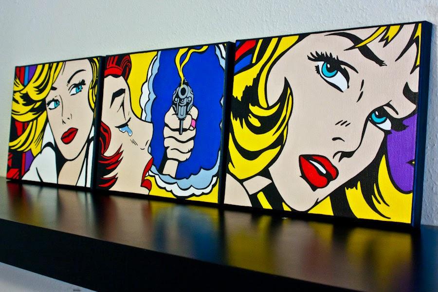 Obras Arte Pop Pop Art un Estilo de Arte Que