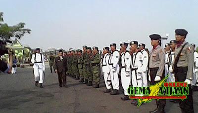 Pemkab Kotabaru Peringati HUT TNI ke 70
