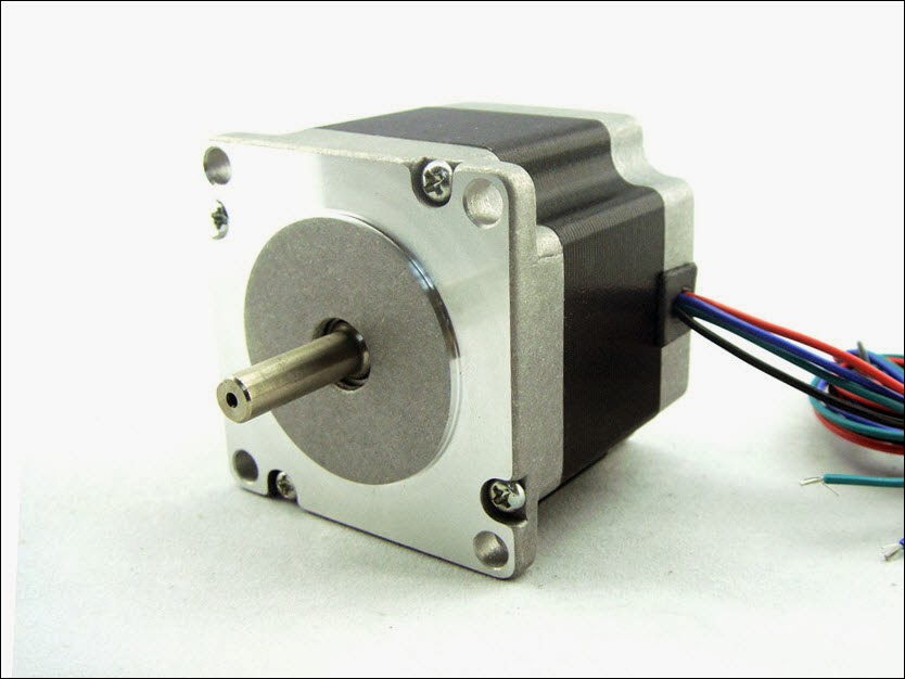 Atmega32 interfacing bipolar stepper motor using l293d for Bipolar stepper motor driver circuit