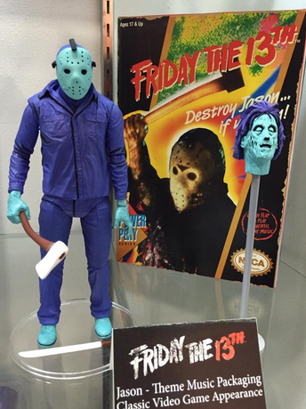 Friday 13th Jason Video Game Appearance Musical Box Action Figure NECA PRE-ORDER