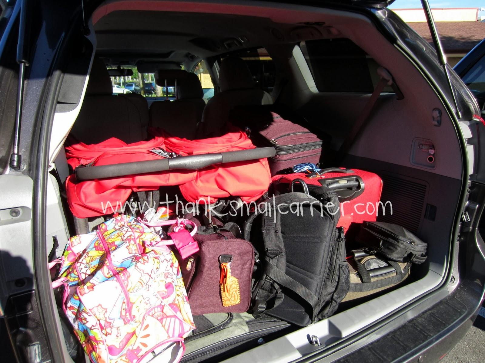 minivan storage