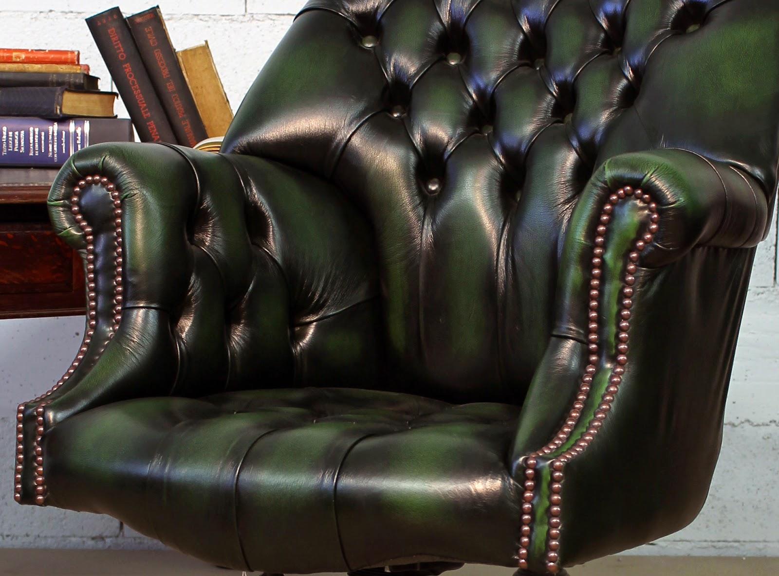 ... : Poltrone e Sedie Chesterfield da Ufficio in Pelle Nuove e Vintage