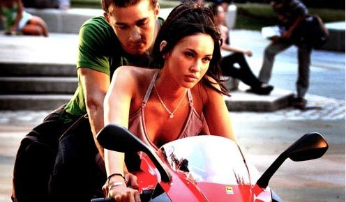 Megan Motorcycle On Hollywood Fox Transformers Revenge Of The Fallen