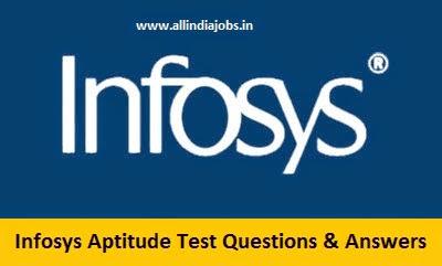 Infosys Aptitude Test