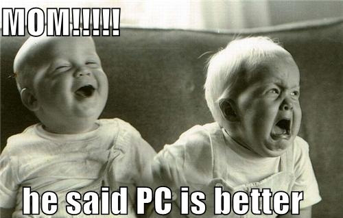 Mac User - MoM He Said PC Is Better