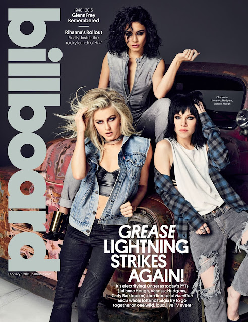Actress, Singer, @ Vanessa Hudgens and Julianne Hough - Billboard Magazine, February 2016