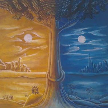Dualitatea sufletului - 50x50 cm - 150 lei