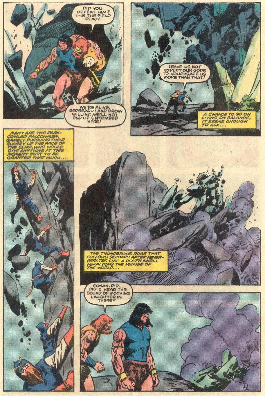 Conan the Barbarian (1970) Issue #162 #174 - English 23