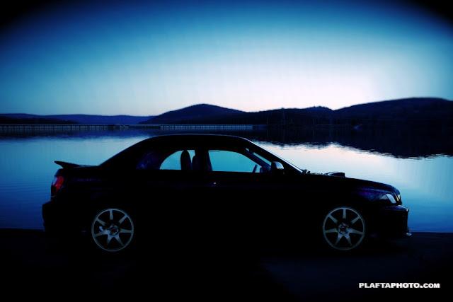 Subaru Impreza WRX GD, japońskie sportowe sedany, zdjęcia samochodów w nocy, boxer, awd, ciekawe sedany, fajne