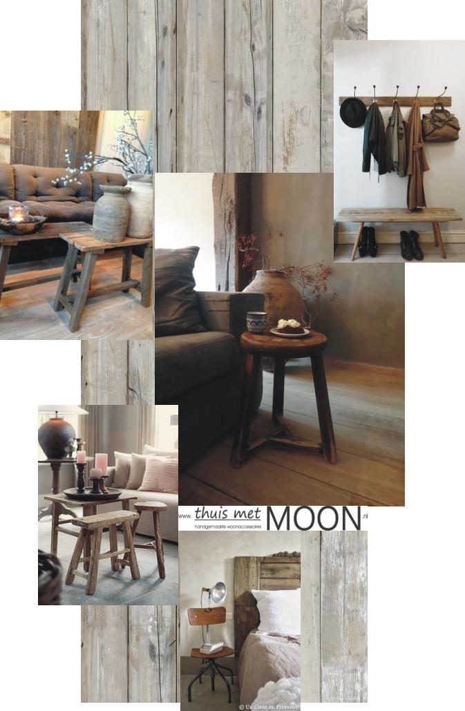 Thuis met moon for Landelijk interieur