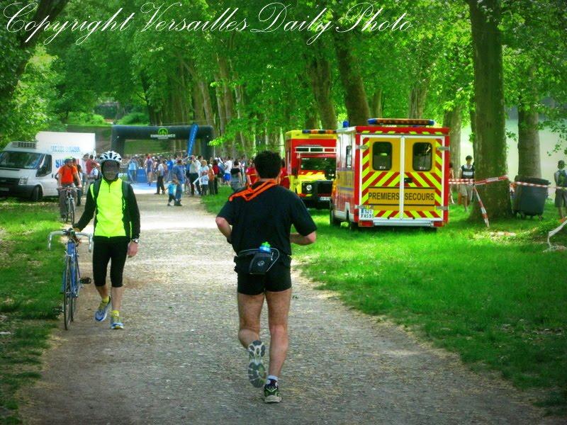 VersaillesDailyPhoto blog Le Triathlon du Roi # Triathlon Bois Le Roi