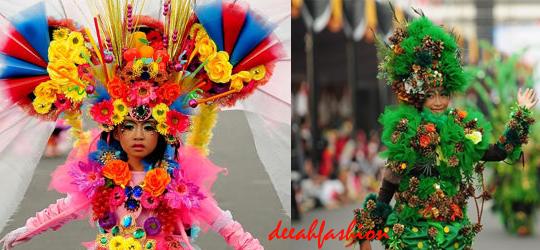 Kostum Unik Jember Fashion Carnival 2014