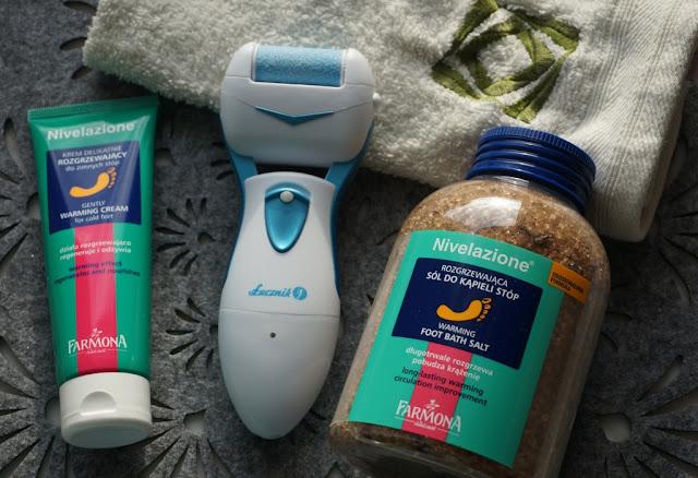 Zimowa pielęgnacja stóp z rozgrzewającymi kosmetykami Nivelazione