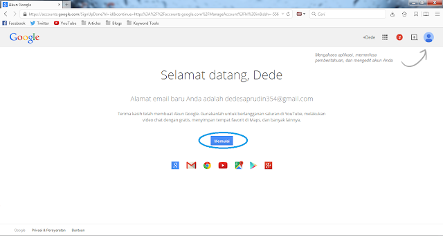 Cara Membuat email di google dengan mudah