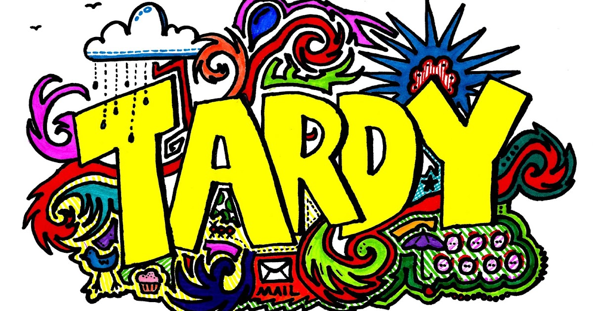 Image result for tardy clipart