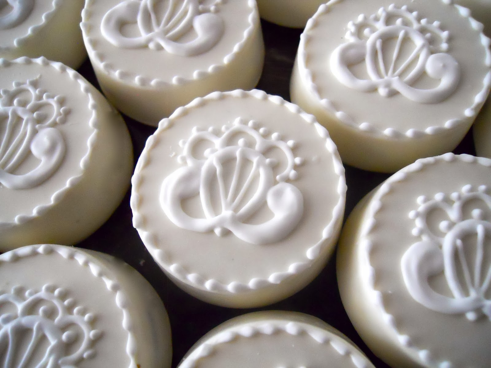 Oh Sugar Events: Wedding Oreos