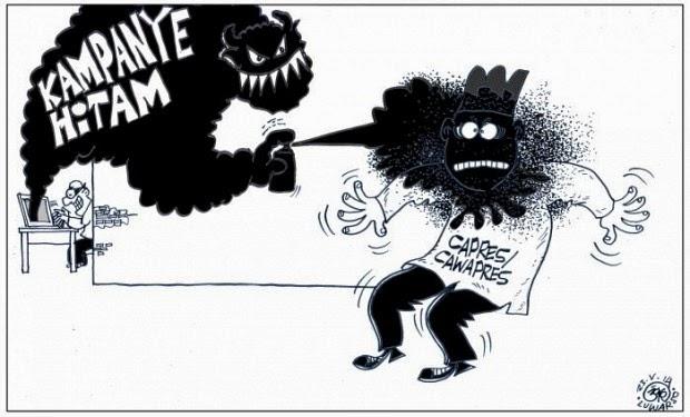 Kampanye Hitam, Menyumbar Kejelekan Capres