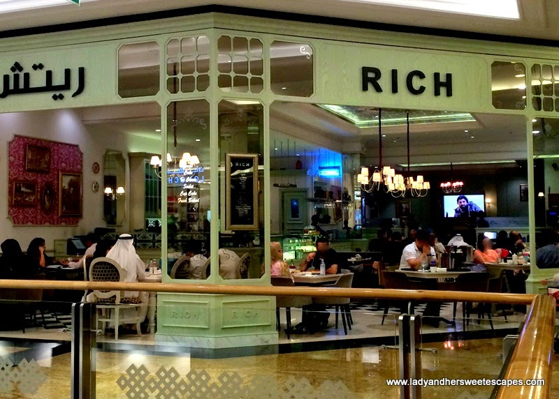 RICH Cafe at Mall of the Emirates