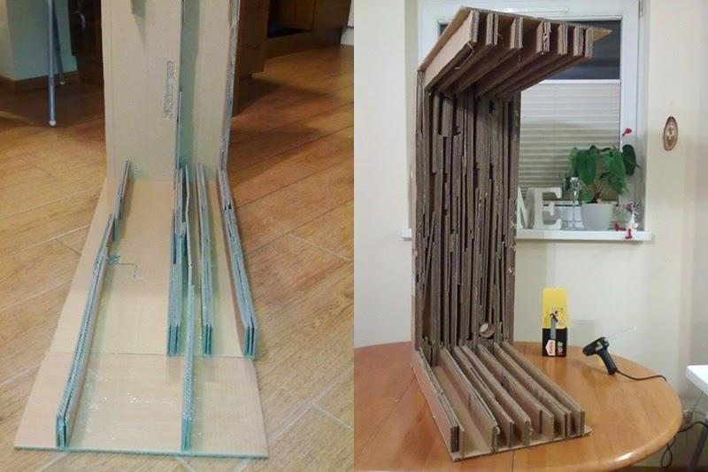 meble z kartonu | jak zrobic mebel z kartonu | tekturowe meble