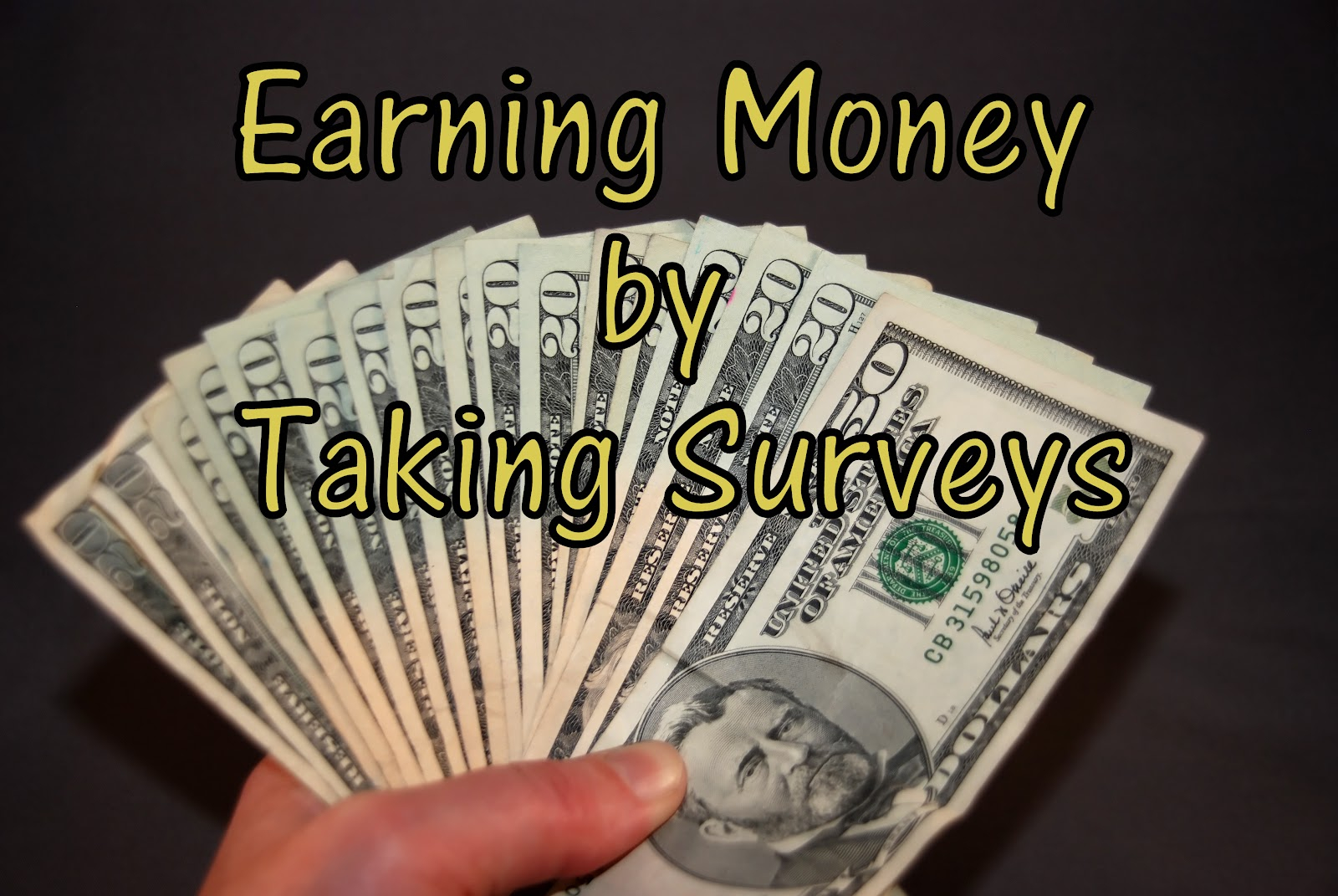 Survey's for Money