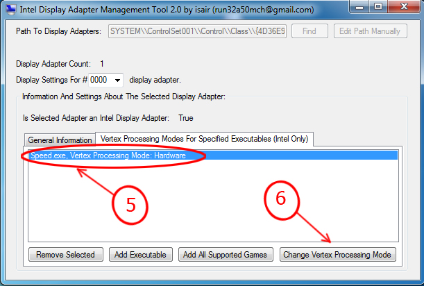 free download intel display adapter management tool for windows xp