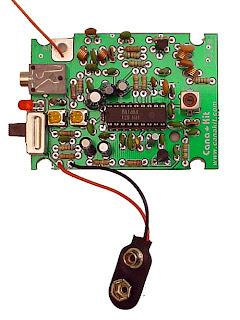 Pemancar FM kit Stereo IC BA 1404