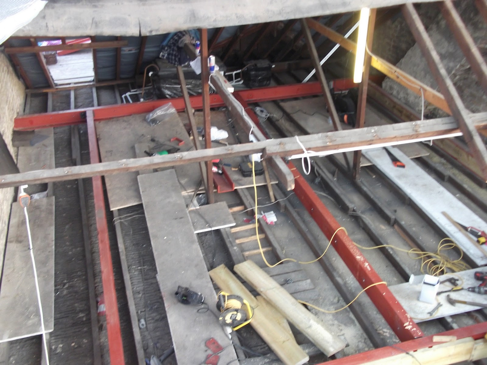 Loft Conversion A How To Guide Installing The Steel Rsjs