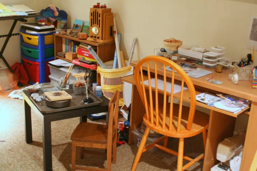 Clean-up, Fix-up Challenge ~ the not-so-messy-anymore studio :: All Pretty Things