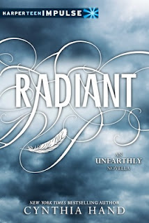 cover of Radiant (unearthly #2.5) by Cynthia Hand