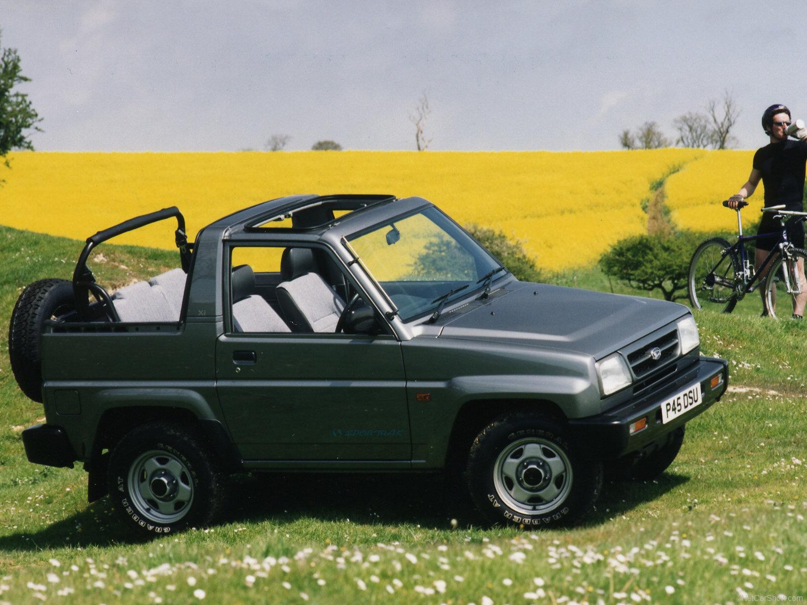 Hình ảnh xe ô tô Daihatsu Sportrak 1997 & nội ngoại thất