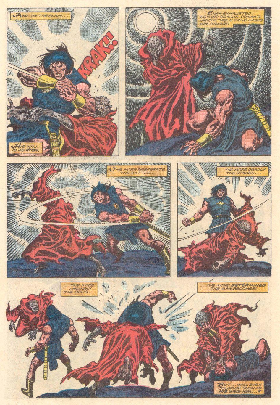 Conan the Barbarian (1970) Issue #183 #195 - English 14