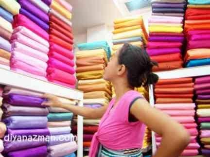 Gambar memilih dan mengenal macam kain dan jenis-jenis kain yang berkualitas