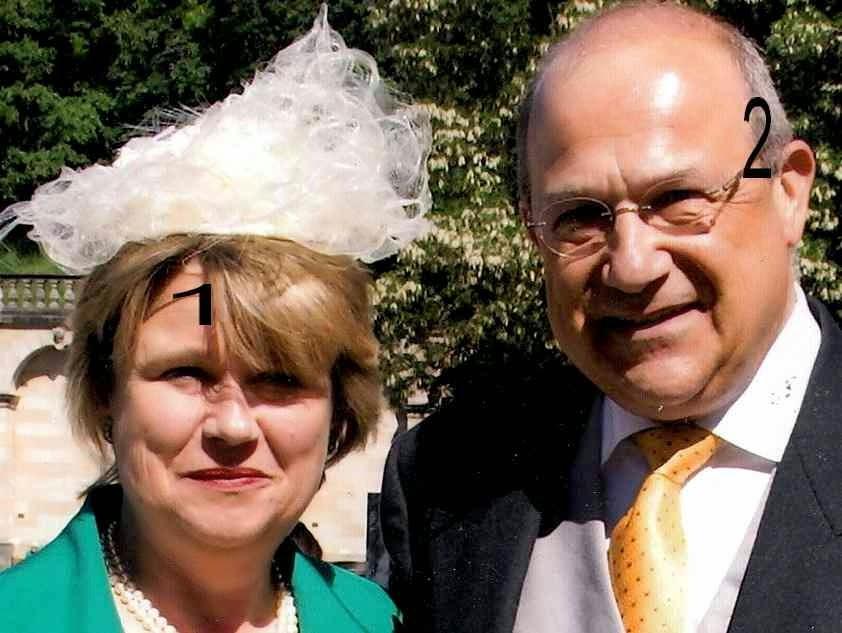 Anita von Hohenberg et Andreas von Bardeau- Habsbourg