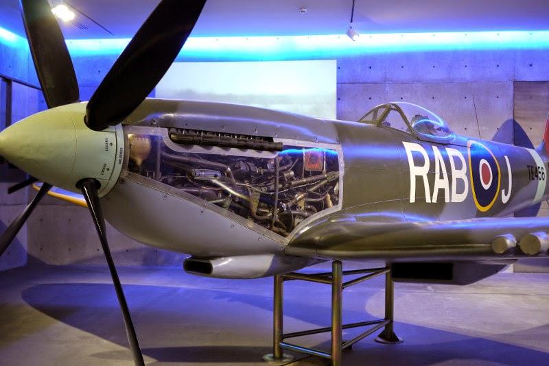 Auckland Museum. Avión Spitfire