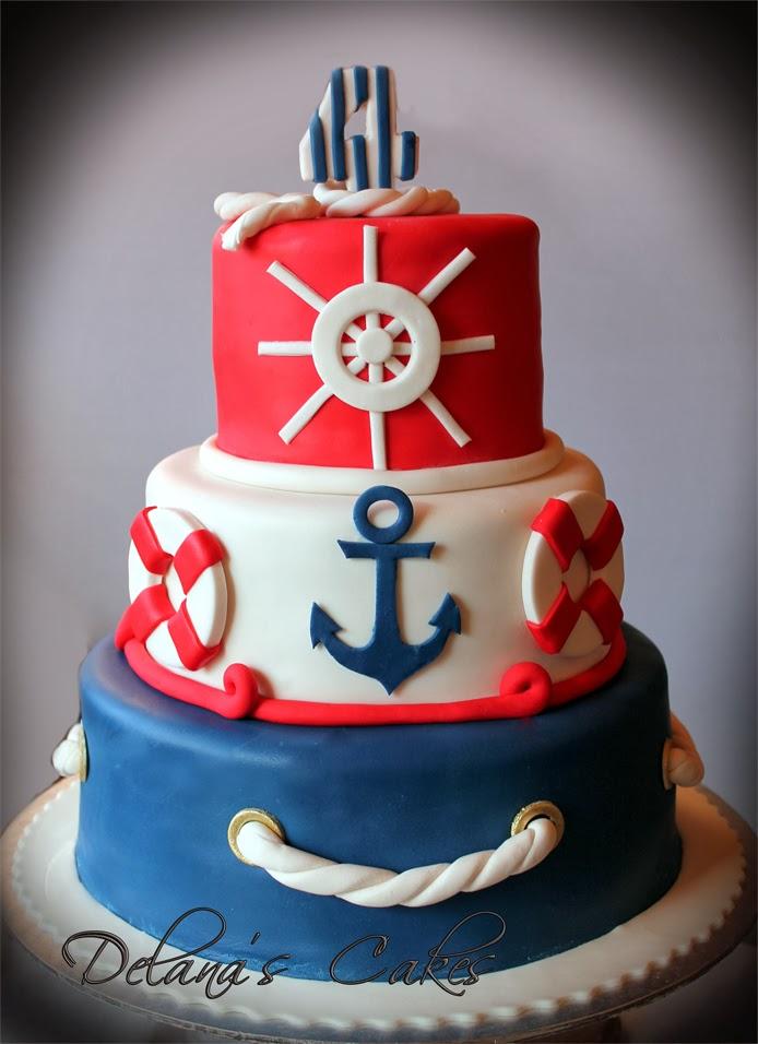 Delana's Cakes: Ahoy Sailor!