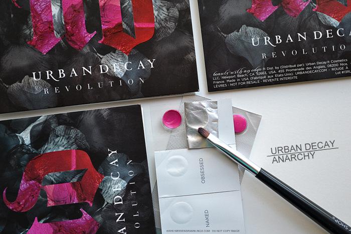 Urban Decay Revolution Lipstick - Anarchy - Swatches, Photos