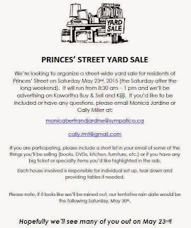 image Fenelon Falls Sat May 23 Street Sale Announcement