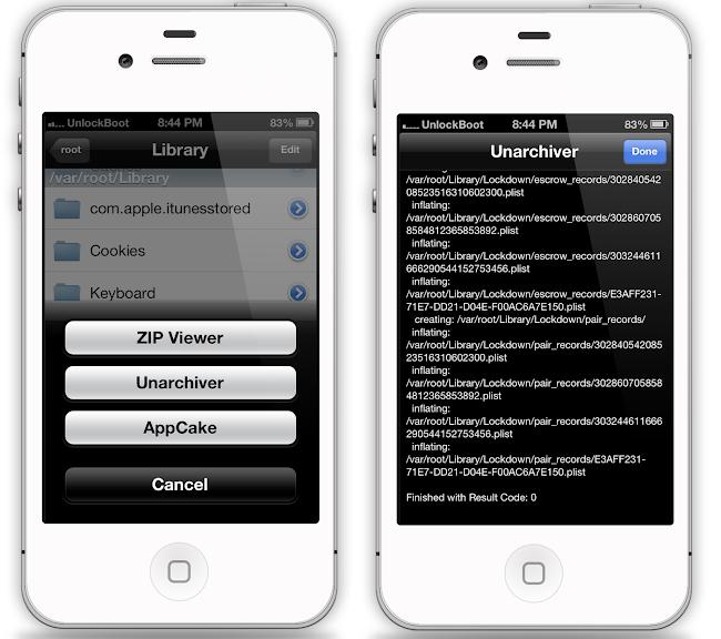 Unlock IOS 7 With SAM