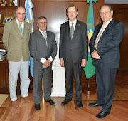 Hoy, viernes por la mañana, el intendente de Malvinas Argentinas, .