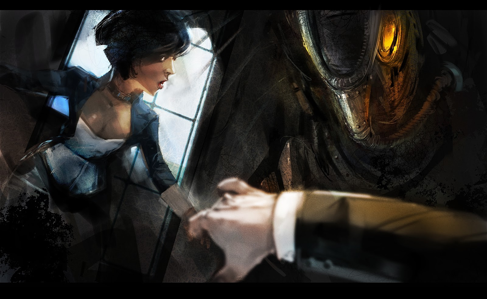 Bioshock infinite concept art wallpaper
