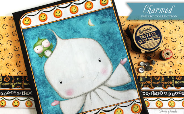 Halloween, pumpkin, ghost, black cat,mouse, stacey yacula, Quilting Treasures