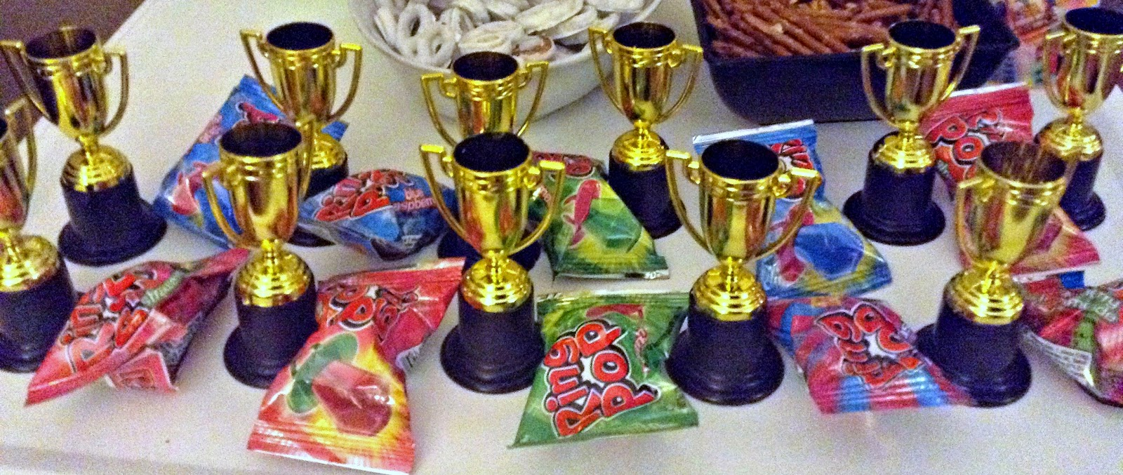 Game Night Fun - trophies
