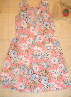 Vintage dress ready for upcycling