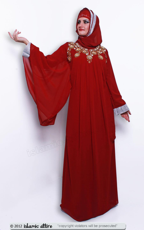 Model For Women Lace Patchwork Cuff Indonesia Dress Fashion Muslim Dress