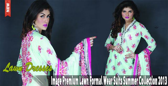 Image Premium Lawn Formal Wear Summer Collection 2013
