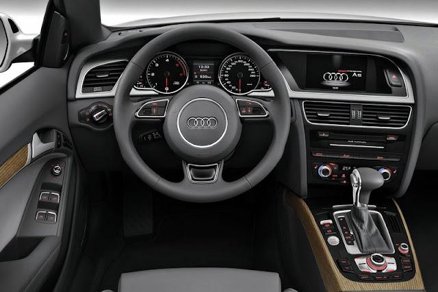 2012 Audi A5 Cabriolet Entertainment Interior