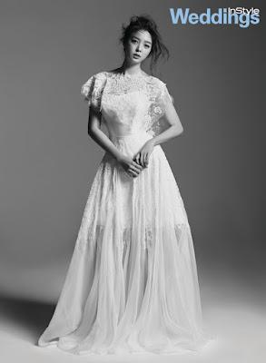 Uhm Hyun Kyung - InStyle Weddings Magazine July Issue 2015