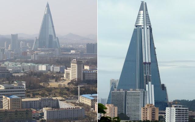 """Hotel """"Isla de Rügen"""" en Pyongyang, Corea del Norte"""