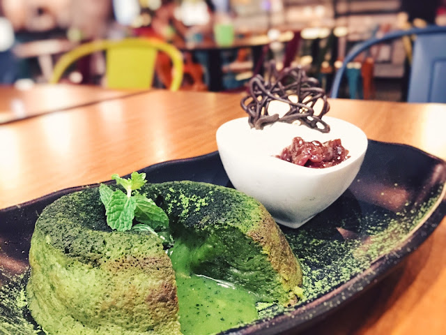 Babette Singapore - Matcha Lava Cake